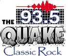 KQAV 93.5 FM - The Quake